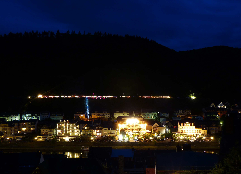Cochem bei Nacht