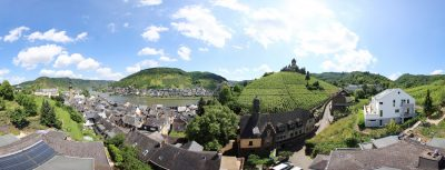 Panoramablick über Cochem