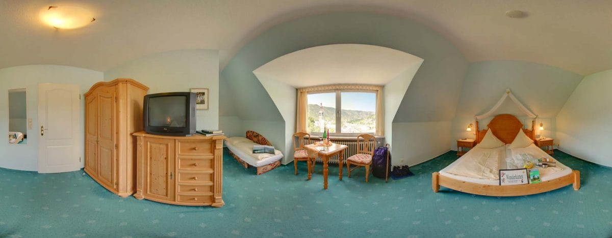 Double room with Moselle view